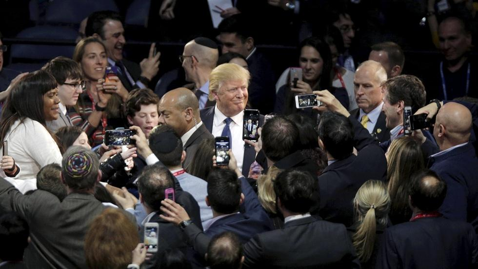 How Donald Trump turned media spectacle into campaign wins image