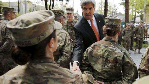 PBS NewsHour -- Kerry visits Kabul in effort to ease political tensions