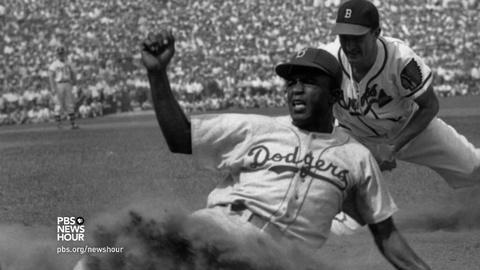 PBS NewsHour -- The long influence of Jackie Robinson, on and off the field