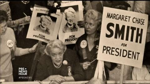 PBS NewsHour -- The overlooked history of women running for president