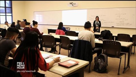 PBS NewsHour -- NYC community colleges invest in student support