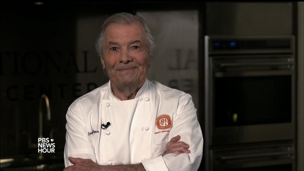 Jacques Pépin says following a recipe can lead to disaster image