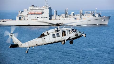 PBS NewsHour -- News Wrap: U.S. military announces South China Sea patrols