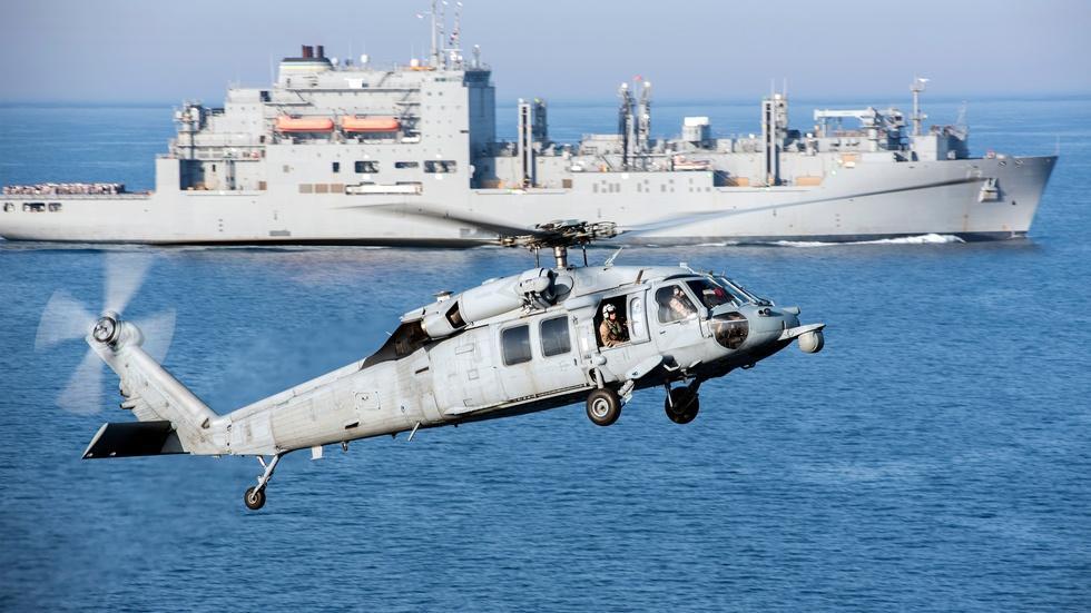 News Wrap: U.S. military announces South China Sea patrols image