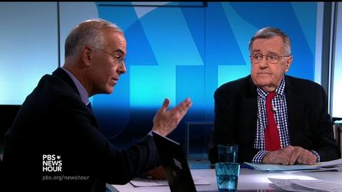 PBS NewsHour -- Shields and Brooks on Trump's delegate complaints