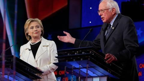 PBS NewsHour -- Clinton, Sanders spar in debate; GOP argues over delegates