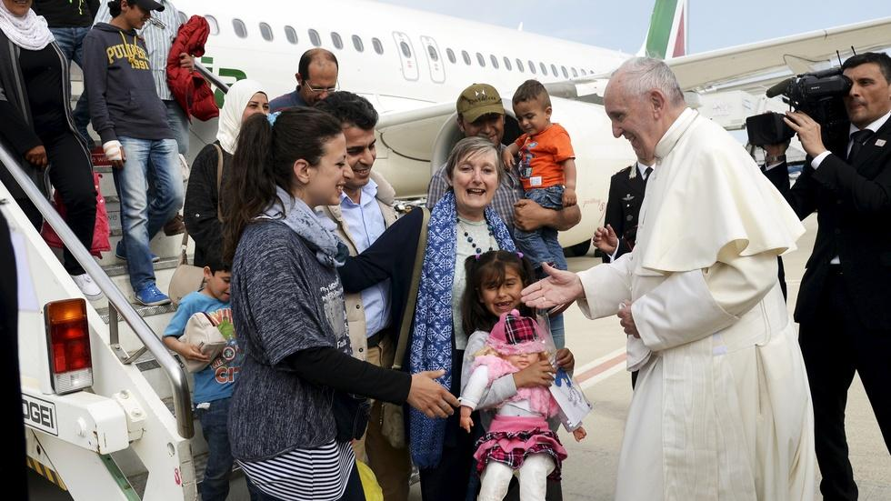 Behind Pope Francis' trip to Lesbos amid migrant crisis image