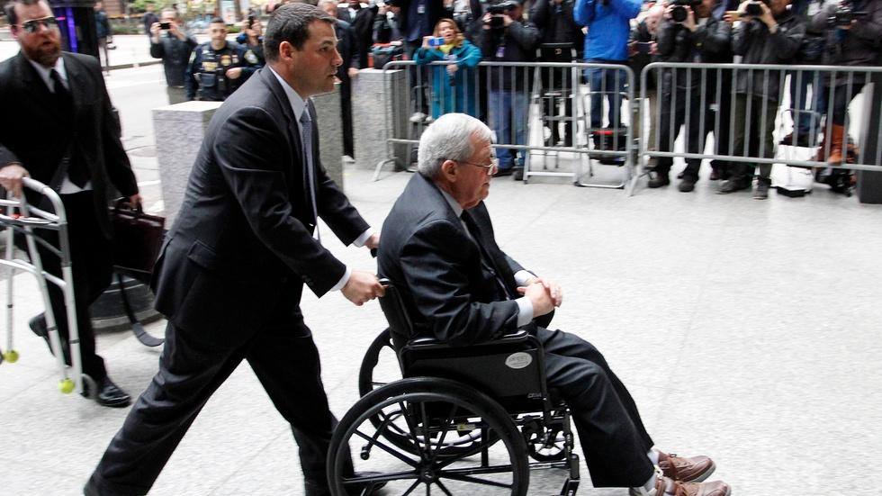 Hastert faces sex abuse past in hush money case image