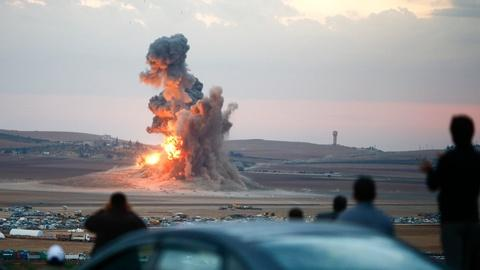 PBS NewsHour -- Are airstrikes successfully weakening ISIS?