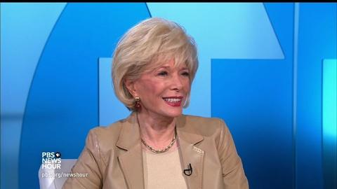 PBS NewsHour -- Lesley Stahl on the benefits of 'Becoming Grandma'