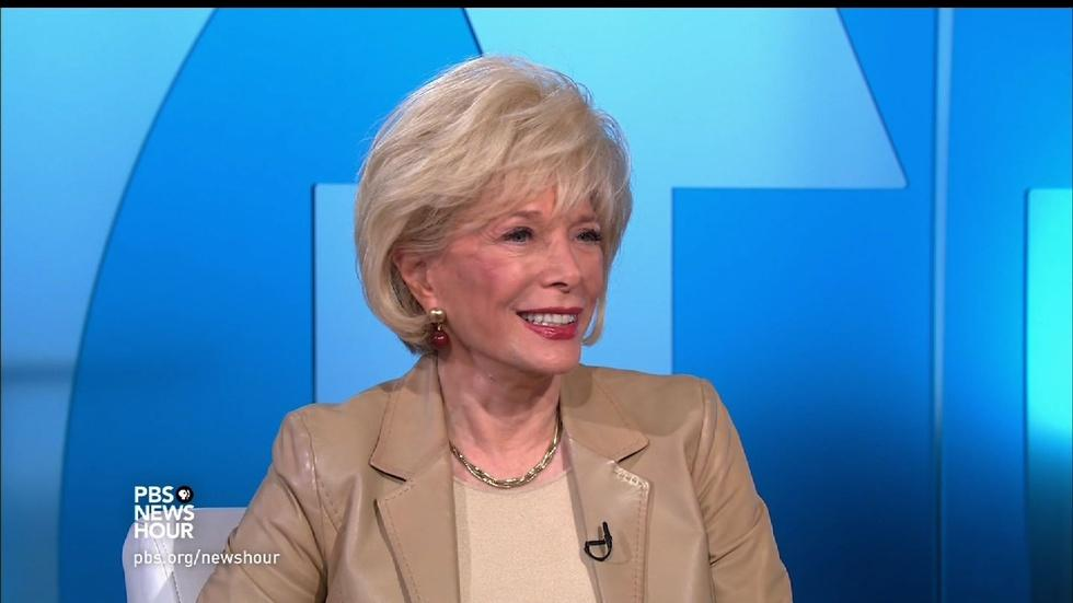 Lesley Stahl on the benefits of 'Becoming Grandma' image