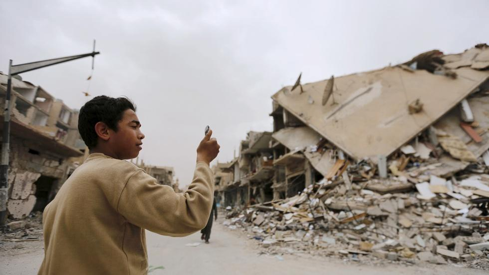 How Syrians are coping with the daily adversity of war image