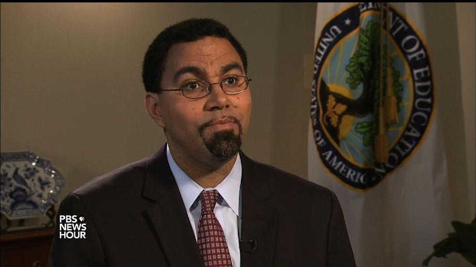 Secretary John King on the college admissions caste system image