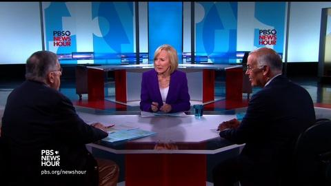 PBS NewsHour -- Shields and Brooks on Trump's nomination triumph