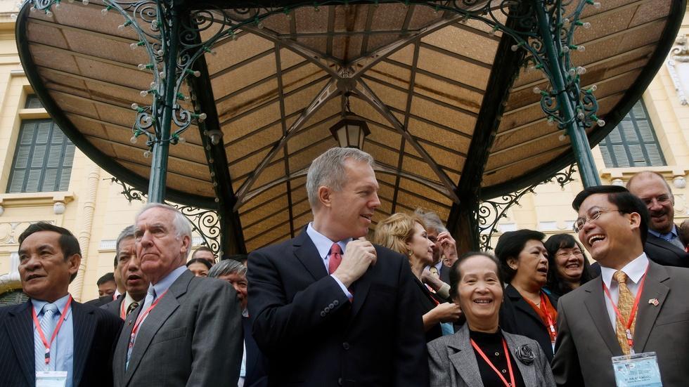 Meet bicycle diplomat Ted Osius, U.S. ambassador to Vietnam image