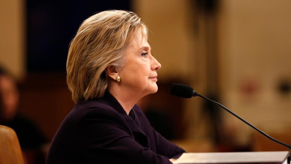 News Wrap: State Dept. watchdog slams Clinton over emails image