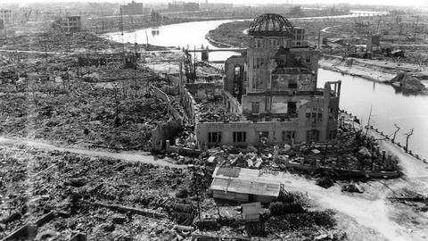 PBS NewsHour -- A look at world's nuclear reality, 70 years after Hiroshima