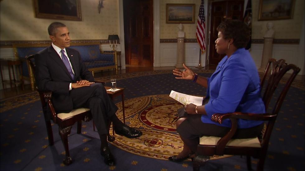 Interview and Town Hall with President Obama image