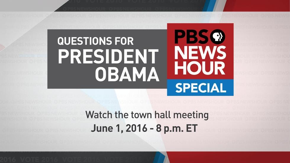 Watch the PBS NewsHour Town Hall image