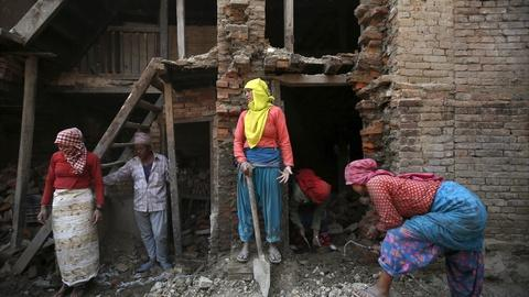 PBS NewsHour -- Nepal works to repair its cultural heritage after earthquake