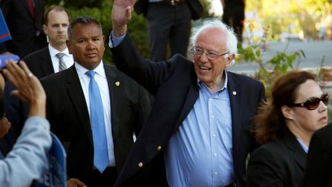PBS NewsHour -- Can Sanders pull off upset win over Clinton in California?