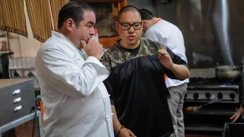 PBS NewsHour -- Writer, chef, restaurateur Eddie Huang's cups runneth over