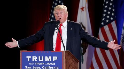 PBS NewsHour -- AP calls Clinton Democratic nominee; Trump alienates GOP