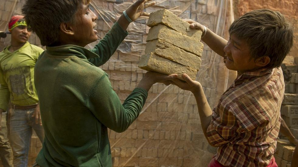 A push to rebuild Nepal without child labor image