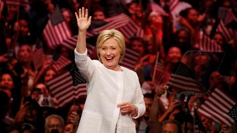 PBS NewsHour -- What political experts and historians think of Clinton's win