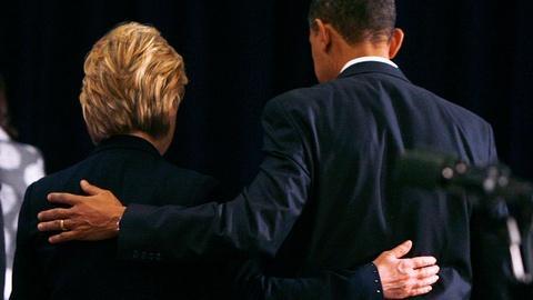 PBS NewsHour -- Obama grants Clinton endorsement; Sanders vows persistence