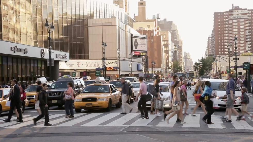 How NYC's streets became more pedestrian-friendly image