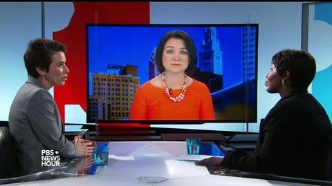 PBS NewsHour -- Donald Trump, Hillary Clinton react to Orlando mass shooting