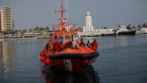 PBS NewsHour -- Problems driving migrant crisis persist