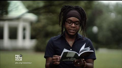 PBS NewsHour -- A year after shooting, South Carolina poets offer healing