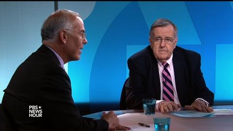 PBS NewsHour -- Shields and Brooks on gun violence and response to Orlando
