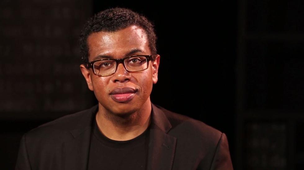 Playwright examines America's racial fabric via O.J. trial image