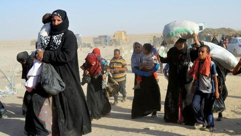 PBS NewsHour -- Humanitarian crisis looms in Fallujah after ISIS defeat