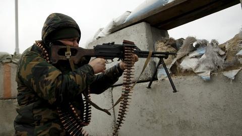 PBS NewsHour -- Desire to break free keeps Donetsk fighting?