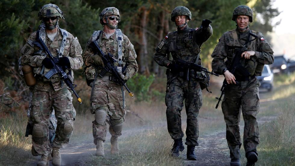 NATO troop buildup to deter Russia is largest since Cold War image