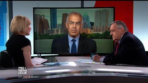 PBS NewsHour -- Shields and Brooks on Dallas police murders