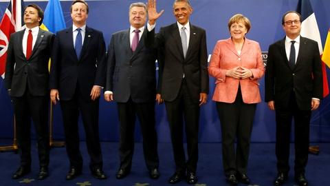 PBS NewsHour -- NATO reacts to Russia's aggressive moves in Eastern Europe