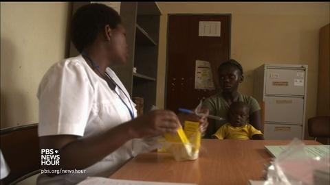PBS NewsHour -- Rwanda, once torn by genocide, now a global anti-AIDS leader