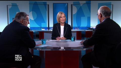 PBS NewsHour -- Shields and Brooks on 'sweet' Mike Pence