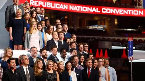 PBS NewsHour -- The latest from Cleveland as GOP convention start nears