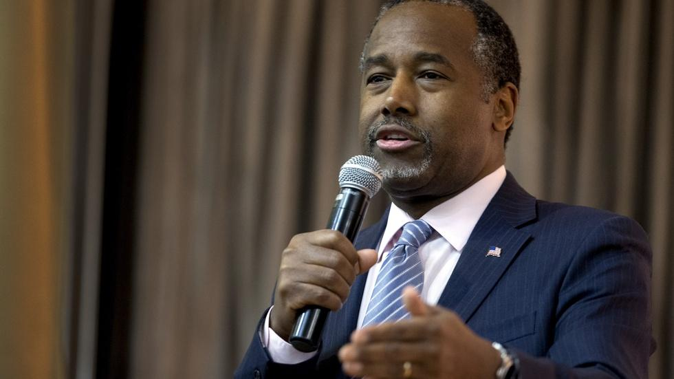 Dr. Ben Carson: it's tough for a nice guy to win a campaign image