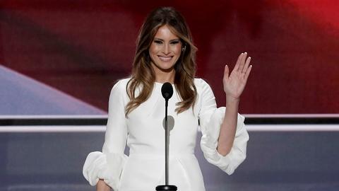 PBS NewsHour -- Melania Trump's speech controversy casts shadow over RNC