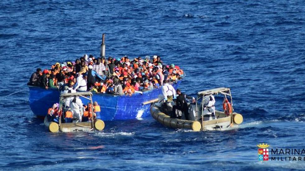 Desperate migrants share horror stories from Libya image