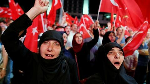 PBS NewsHour -- Turkish crackdown touches thousands after coup attempt