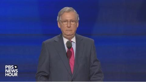 PBS NewsHour -- Watch Mitch McConnell's full speech at RNC 2016