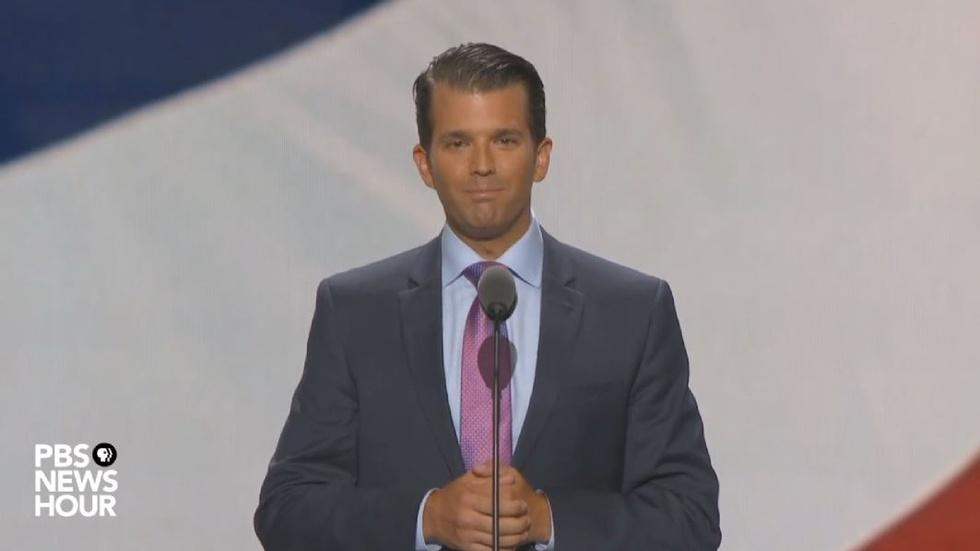 Watch Donald Trump Jr. speak at the 2016 RNC image